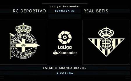 ¡Final! Deportivo-Betis: 0-1