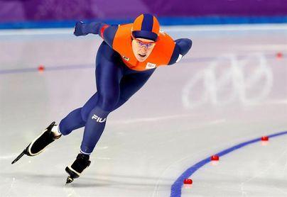 Segundo oro para la patinadora holandesa Wust, vencedora en los 1.500