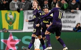 2-2: El Tottenham reaccionó al doblete de Higuaín