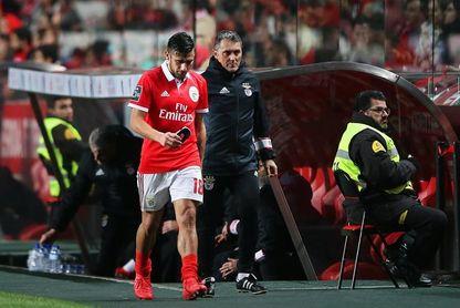 El argentino Salvio estará seis semanas parado por una lesión de rodilla