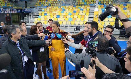 """Casimiro: """"Fuenlabrada llega herido pero la Copa es muy distinta a la Liga"""""""