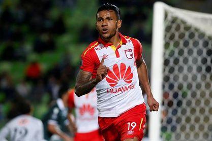 1-2. El Santa Fe derrota al Santiago Wanderers con un doblete de Morelo