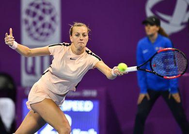 Kvitova remonta a Woazniacki y jugará con Garbiñe Muguruza por el título