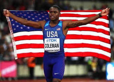Coleman rebaja el tope mundial de 60 metros (6.34)