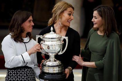 Los Reyes entregan los premios a Craviotto, Chourraut y Valentin como los mejores del 2016