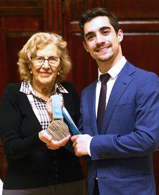 """Javier Fernández : """"Quería traer la medalla a Madrid y al Ayuntamiento"""""""