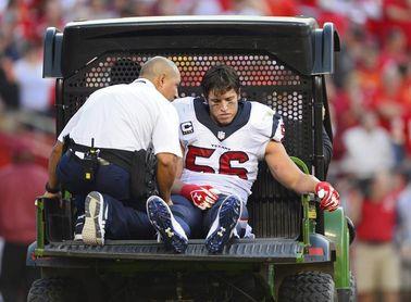 Cushing decide su retirada luego de que los Texans le dieron de baja