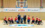 CaixaBank, nuevo patrocinador del baloncesto en silla de ruedas