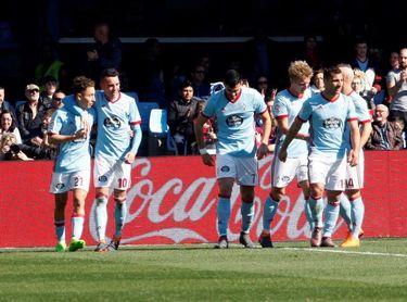 2-0. El Celta desbanca al Eibar de la séptima plaza