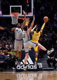 El doble-doble de Pau Gasol no salva a los Spurs; tampoco Ibaka a los Raptors