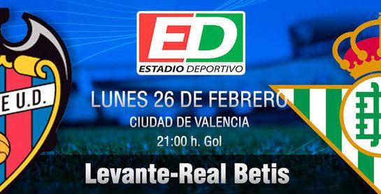 Levante-Real Betis: A encarrilar el tren de la ilusión