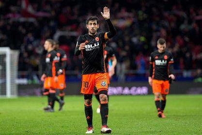Parejo lidera al Valencia al cumplir doscientos partidos de Liga en el club