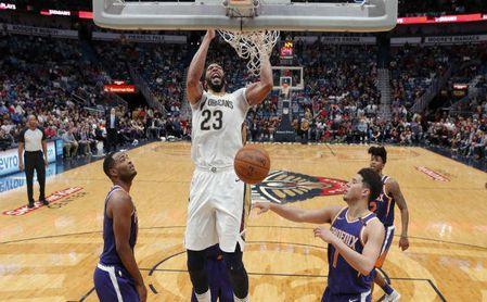 125-116. Davis celebra anotación de 53 puntos con sexto triunfo de Pelicans.