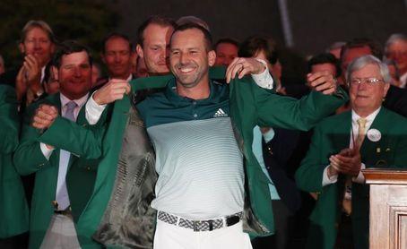 Sergio García, Deportista Revelación del Año por su victoria en Augusta