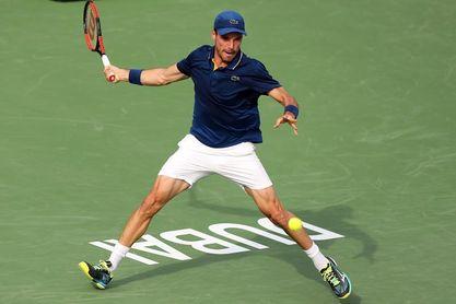 Bautista-Jaziri y Krajinovic-Pouille, semifinales en Dubai