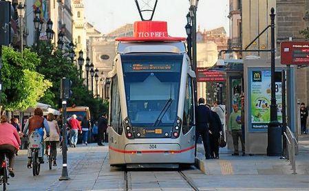 El tranvía llegará hasta Santa Justa por San Francisco Javier y Nervión a partir de 2020.