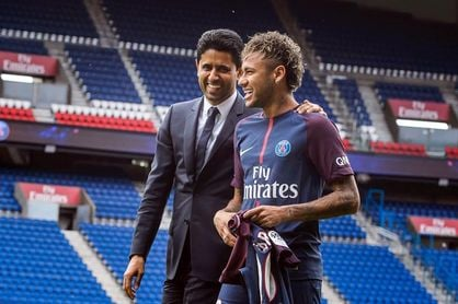 El presidente del PSG descarta polémicas con Brasil sobre Neymar