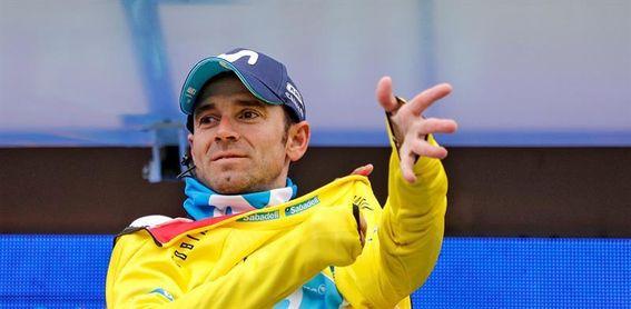 Valverde lucirá los galones del Movistar en la Strade Bianche