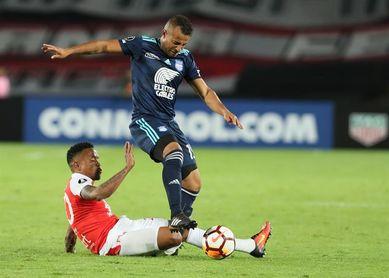 1-1. Dreer y Angulo frenan en seco en Bogotá al Santa Fe del goleador Morelo