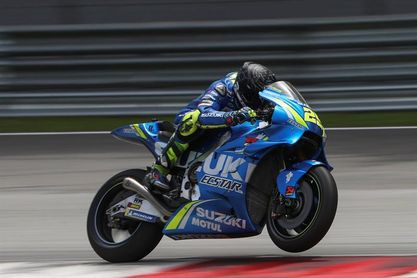 Iannone, el más rápido en la segunda jornada de entrenamientos en Catar