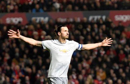 Ibrahimovic dejará el Manchester United a final de temporada