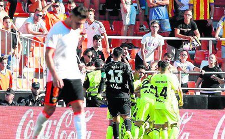 El Betis no pierde en Mestalla desde la 2013-14