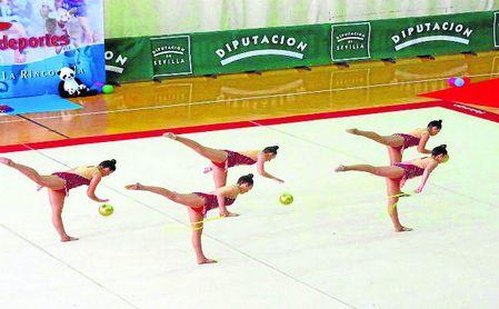 La Rinconada, con la gimnasia.