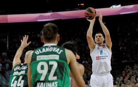 El Real Madrid rescinde el contrato del lituano Jonas Maciulis