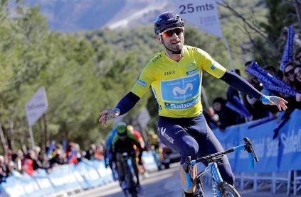 Valverde a la conquista de los caminos de tierra de la Strade Bianche