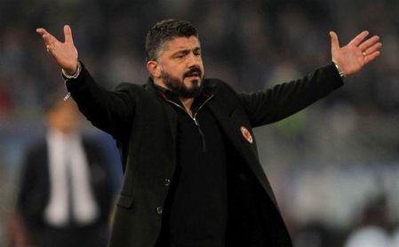 Gattuso resucita al Milan de Montella