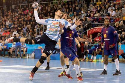 28-27. El Barça finaliza segundo de grupo y se medirá al Montpellier