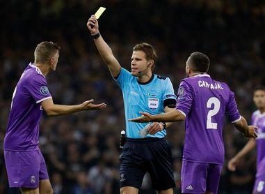 El alemán Felix Brych pitará el PSG-Real Madrid