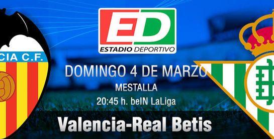 Valencia-Real Betis: Enésimo tirón de la manta verdiblanca