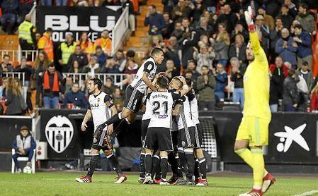 El Valencia suma cuatro triunfos en cinco jornadas.