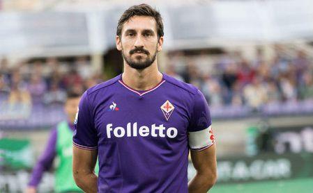 Fiorentina y Cagliari retirarán el dorsal de Astori