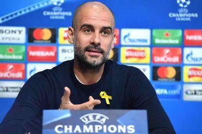Guardiola volverá a llevar el lazo amarillo en la Liga de Campeones