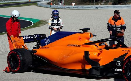 "Alonso, a pesar de los problemas, asegura: ""Llegamos a Australia preparados"""
