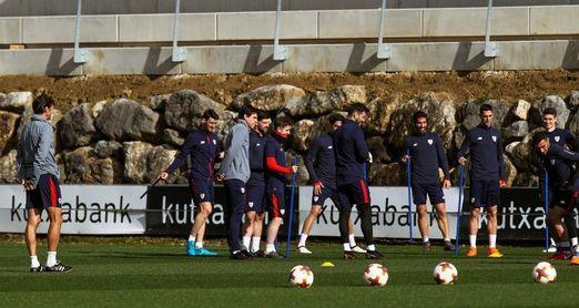 El Athletic, con Aduriz en duda, busca en Marsella alimentar su sueño europeo