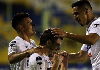 2-1. El General Díaz saca al Barcelona de la Copa Sudamericana