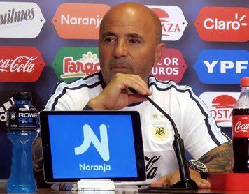 """Sampaoli esperará """"hasta último momento"""" la recuperación de Gago"""