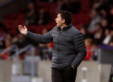 """Garitano: """"Jugando contra el Athletic en San Mamés no somos favoritos"""""""