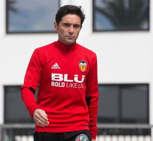 """Marcelino: """"No firmamos el empate, firmamos ganar"""""""