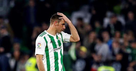 Setién anuncia la baja de Joaquín para el partido contra el Alavés