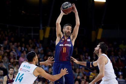 El Barcelona somete al líder y el Unicaja bate su récord de triples