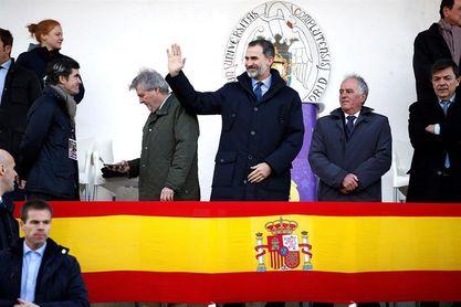 El Rey preside minuto de silencio por 11M antes del España-Alemania de rugby