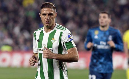Joaquín, en el partido ante el Real Madrid.