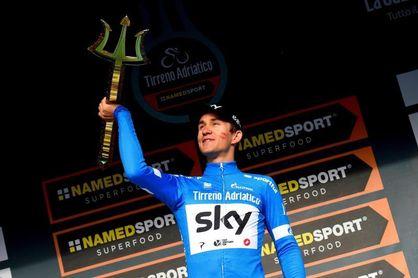 Kwiatkowski se corona en la Tirreno-Adriático por delante de Caruso y Thomas
