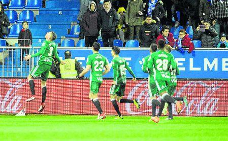 La alegría del gol, muy repartida