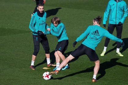 Modric y Bale no hacen trabajo de campo