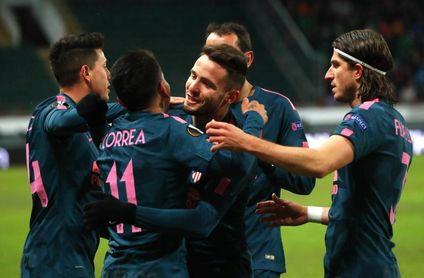 1-5. El Atlético vuelve a golear y está en cuartos